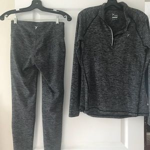 Yoga Pants w/Matching Pullover